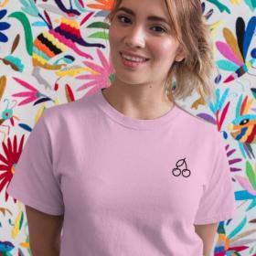 T-shirt Cherry różowa XL out
