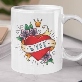Kubek Ceramiczny Oldschool Wife