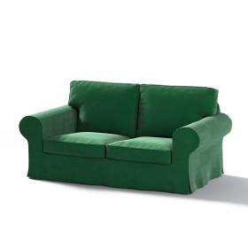 Dekoria.pl Pokrowiec na sofę Ektorp 2-osobową rozkładaną, model po 2012, butelkowa zieleń, 200 x 90 x 73 cm, Velvet