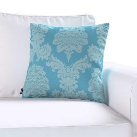 Dekoria.pl Poszewka Kinga na poduszkę, niebieski, 50 × 50 cm, Damasco