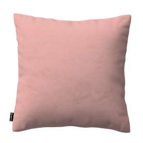 Dekoria.pl Poszewka Kinga na poduszkę, pastelowy róż, 60 × 60 cm, Living