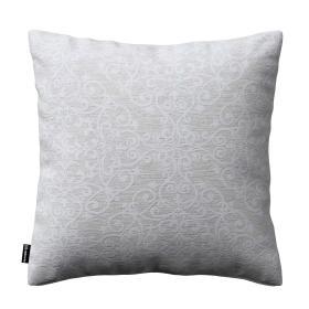 Dekoria.pl Poszewka Kinga na poduszkę, połyskujący wzór na szarym tle, 43 × 43 cm, Venice