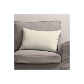 Dekoria.pl Poszewka Kinga na poduszkę prostokątną, satynowa biel, 60 × 40 cm, Comics