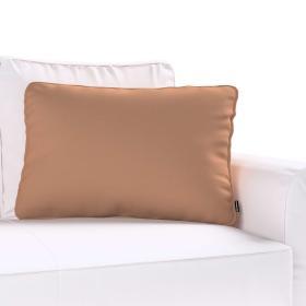 Dekoria.pl Poszewka Gabi na poduszkę prostokątna, Mocca (brąz), 60 × 40 cm, Cotton Panama