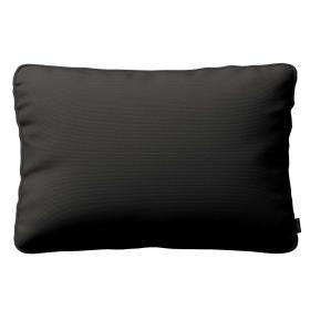 Dekoria.pl Poszewka Gabi na poduszkę prostokątna, Shadow Grey (grafitowy), 60 × 40 cm, Cotton Panama