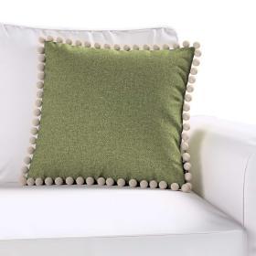 Dekoria.pl Poszewka Wera na poduszkę, zielony melanż, 45 × 45 cm, Madrid
