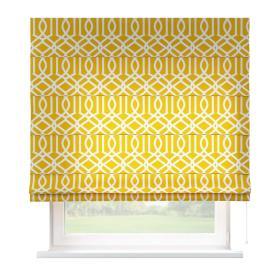Dekoria.pl Roleta rzymska Capri, żółty w białe wzory, szer.80 × dł.170 cm, Comics