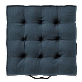 Dekoria.pl Siedzisko Kuba na krzesło, niebieski, 40 × 40 × 6 cm, Etna