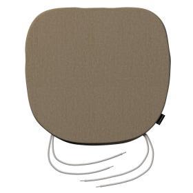 Dekoria.pl Siedzisko Bartek na krzesło, kakaowy szenil, 40 × 37 × 2,5 cm, Chenille