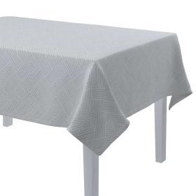 Dekoria.pl Obrus prostokątny, szaro-białe wzory geometryczne, 130 × 280 cm, Sunny
