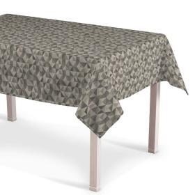 Dekoria.pl Obrus prostokątny, szaro-popielaty, 130 × 180 cm, Retro Glam do -50%
