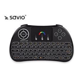 Elmak SAVIO KW-02 Podświetlana klawiatura bezprzewodowa Android TV Box, Smart TV, PS3, XBOX360, PC