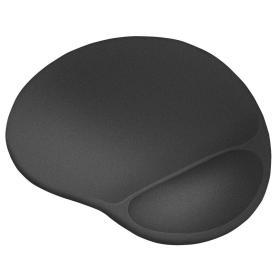 Trust Podkładka pod mysz BigFoot XL żelowa, czarna