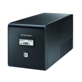 PowerWalker UPS POWER WALKER LINE-INTERACTIVE 1000VA 2X 230V PL + 2XIEC OUT, RJ11/RJ45 IN/OUT, USB, LCD