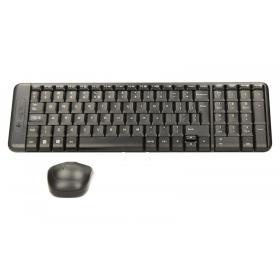 Logitech MK220 Bezprzewodowy zestaw klawiatura i mysz 920-003168