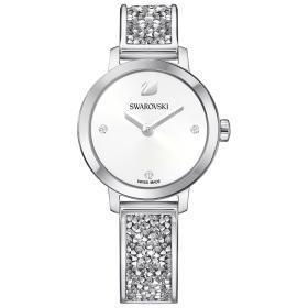 Zegarek Swarovski • Cosmic Rock Watch, Metal bracelet, White, Silver tone 5376080