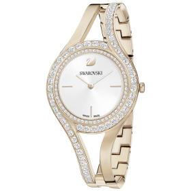 Zegarek Swarovski • Eternal Watch, Metal bracelet, White, Champagne gold tone 5377563