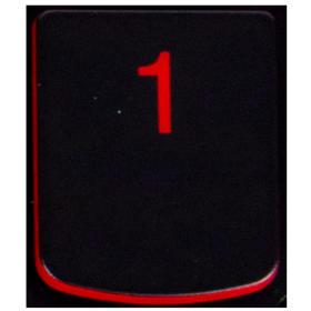 Klawisz 1 Lenovo Y530 Y540 red