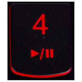 Klawisz 4 Lenovo Y530 Y540 red