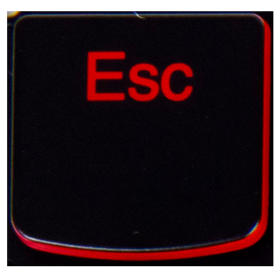 Klawisz ESC Lenovo Legion Y530 Y540 Y7000 red