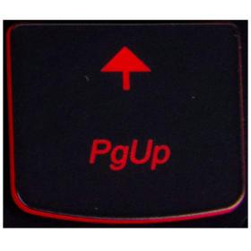 Klawisz PgUp Lenovo Y530 Y540 red