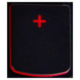 Klawisz PLUS Lenovo Y530 Y540 red