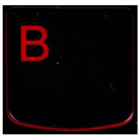 Klawisz B Lenovo Y530 Y540 red