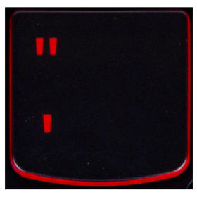 Klawisz CUDZYSŁÓW Lenovo Y530 Y540 red