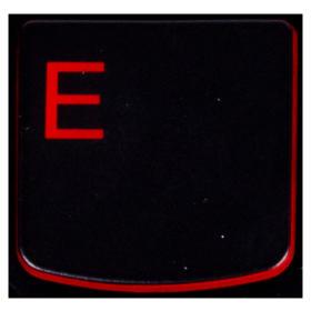 Klawisz E Lenovo Y530 Y540 red