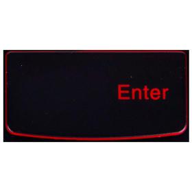 Klawisz Enter Lenovo Y530 Y540 red