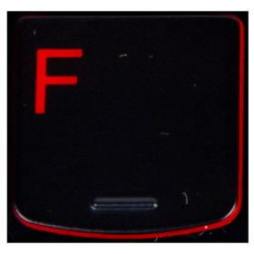 Klawisz F Lenovo Y530 Y540 red