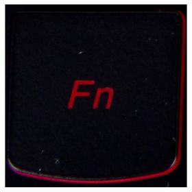 Klawisz Fn Lenovo Y530 Y540 red