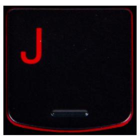 Klawisz J Lenovo Y530 Y540 red