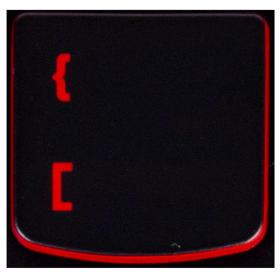 Klawisz KLAMRA { Lenovo Y530 Y540 red