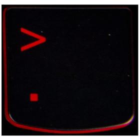 Klawisz < Lenovo Y530 Y540 red