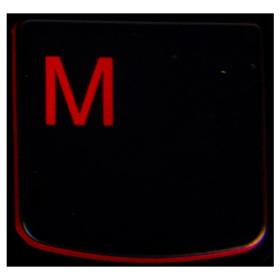 Klawisz M Lenovo Y530 Y540 red