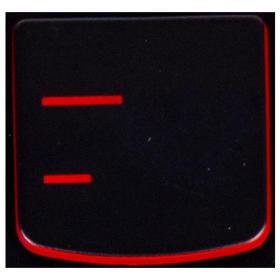 Klawisz MYŚLNIK - Lenovo Y530 Y540 red