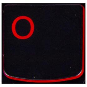 Klawisz O Lenovo Y530 Y540 red
