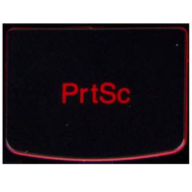 Klawisz PrtSc Lenovo Y530 Y540 red