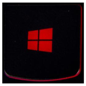 Klawisz WINDOWS Lenovo Y530 Y540 red