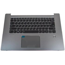 Palmrest touchpad klawiatura Lenovo IdeaPad 530s 15 srebrny