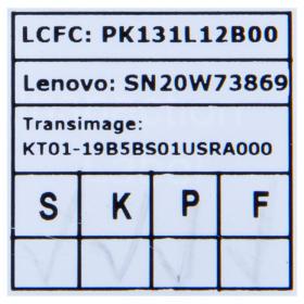 Klawiatura Lenovo X1 CARBON 8 2020 SN20W73869