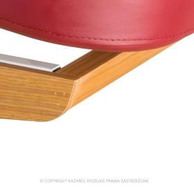 Łóżko kosmetyczne LUNA H PLUS z podgrzewaniem burgundowe
