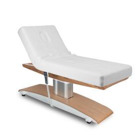 Łóżko kosmetyczne LUNA T PLUS z podgrzewaniem białe