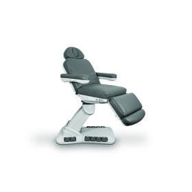 Fotel Kosmetyczny NIKO E z podgrzewaniem grafitowy