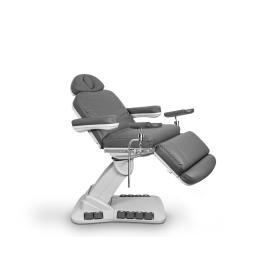 Fotel Zabiegowy NIKO G z podgrzewaniem grafitowy