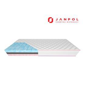JANPOL MOON – materac piankowy, Rozmiar - 120x200, Pokrowiec - Silver Protect WYPRZEDAŻ, WYSYŁKA GRATIS, 603-671-572
