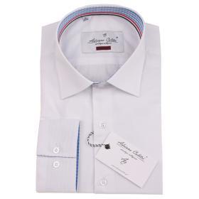 Koszula męska 025 SLIM FIT biała