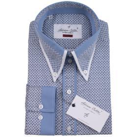 Koszula męska 038 SLIM FIT w mikrowzór