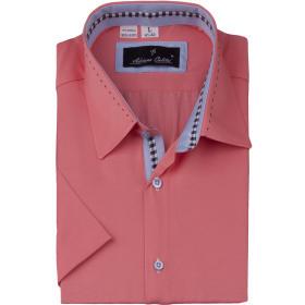 Koszula męska 30112 KLASYCZNA Różowa